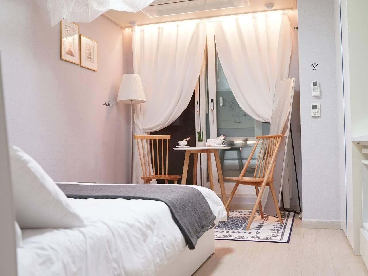 Квартира в 10 минутах от госпиталя, во время лечения в Корее