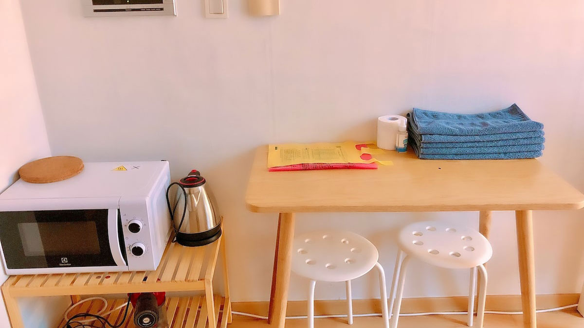 kitchen2 в квартире рядом с больницей бунданг ча корея