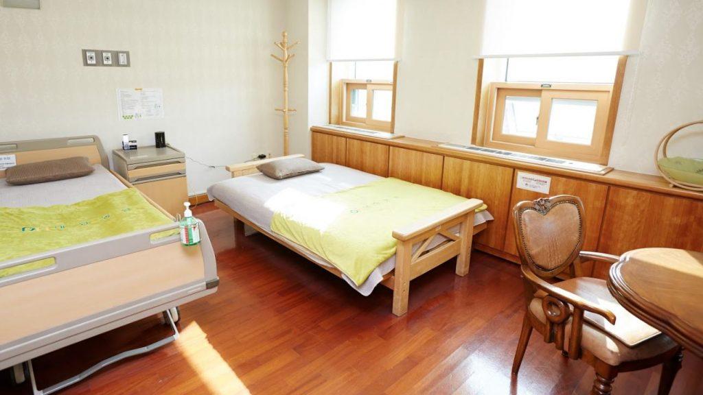 Одноместная палата в госпитале Дэханг южная Корея