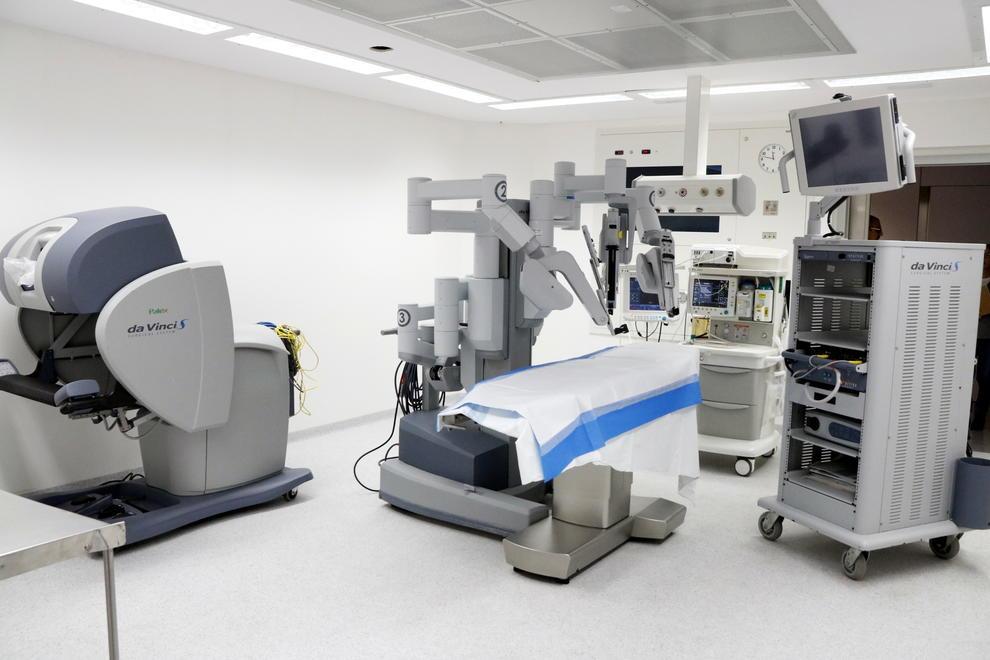 Малоинвазивные операции с помощью робота «Да Винчи»