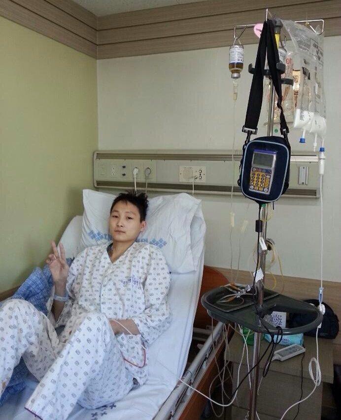 Первый день после операции в корее